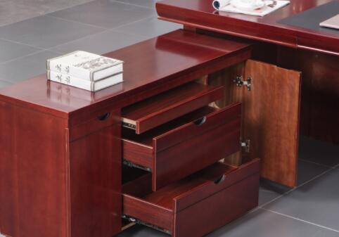 青岛李沧区包装材料公司定做老板办公桌