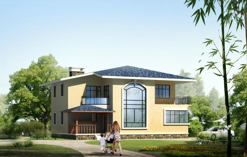 二层新农村住宅小 别墅 设计 图纸 自建房屋